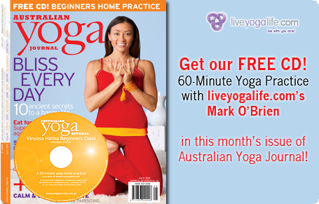 Australian Yoga Journal - Free CD in June 2011 edition