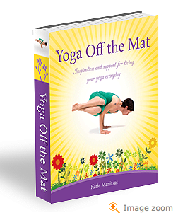 New Yoga Book - Yoga off the Mat by Katie Spiers