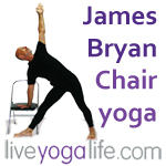 Chair Yoga Classes by James Bryan - Liveyogalife.com