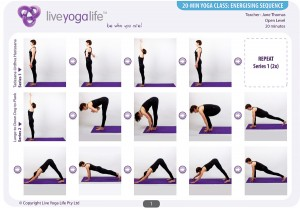 20-Minute Yoga Complete Set (Classes 1 to 7)
