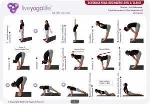 Ashtanga Yoga Beginners Class 1