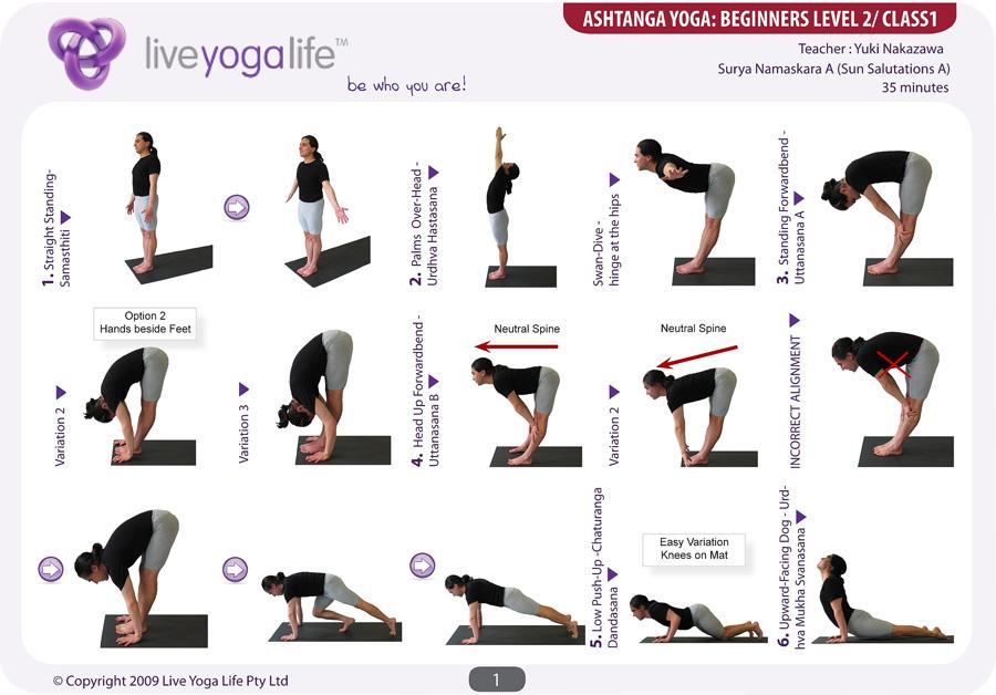Ashtanga Yoga Beginners Class 1 Live Yoga Life