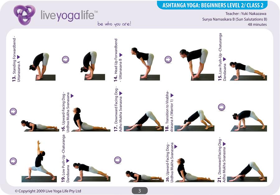 Ashtanga Yoga Beginners Complete Set (Classes 1 to 7 ...