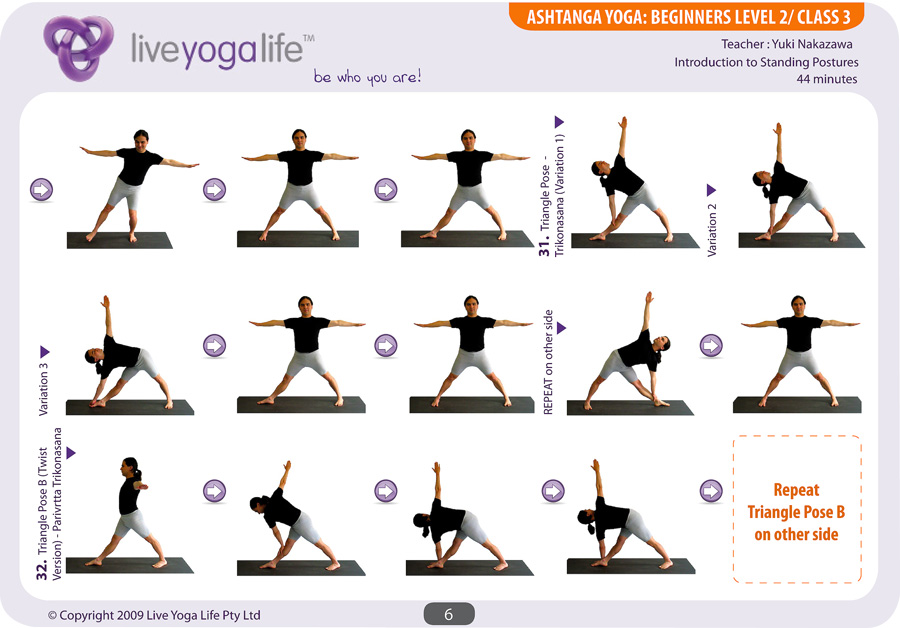 Ashtanga Yoga Beginners Complete Set (Classes 1 to 7 ...