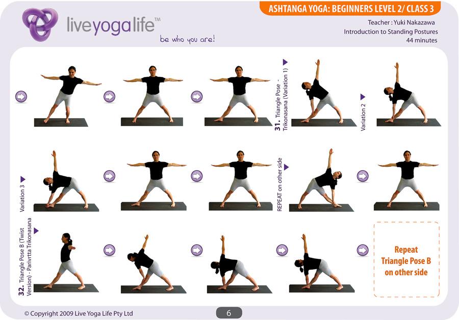 Standing Yoga Poses For Beginners Ashtanga Yoga Beginner...