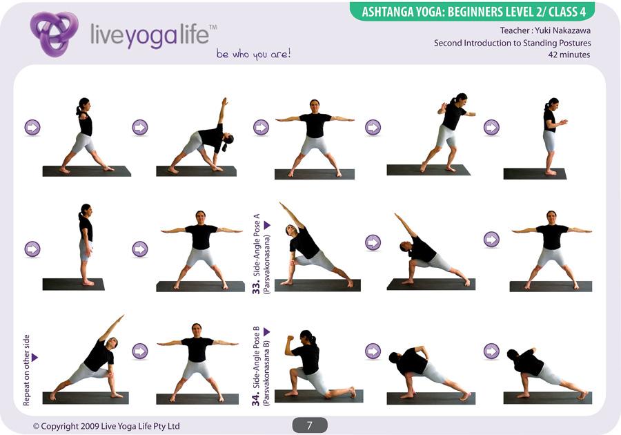 Ashtanga Yoga Beginners Class 4 Live Yoga Life