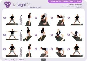Ashtanga Yoga Beginners Class 5