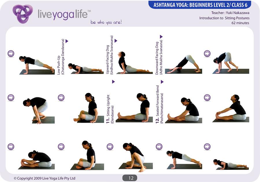 Ashtanga Yoga Beginners Class 6