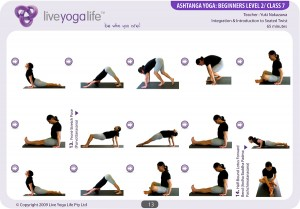 ashtanga yoga beginners class 7  live yoga life