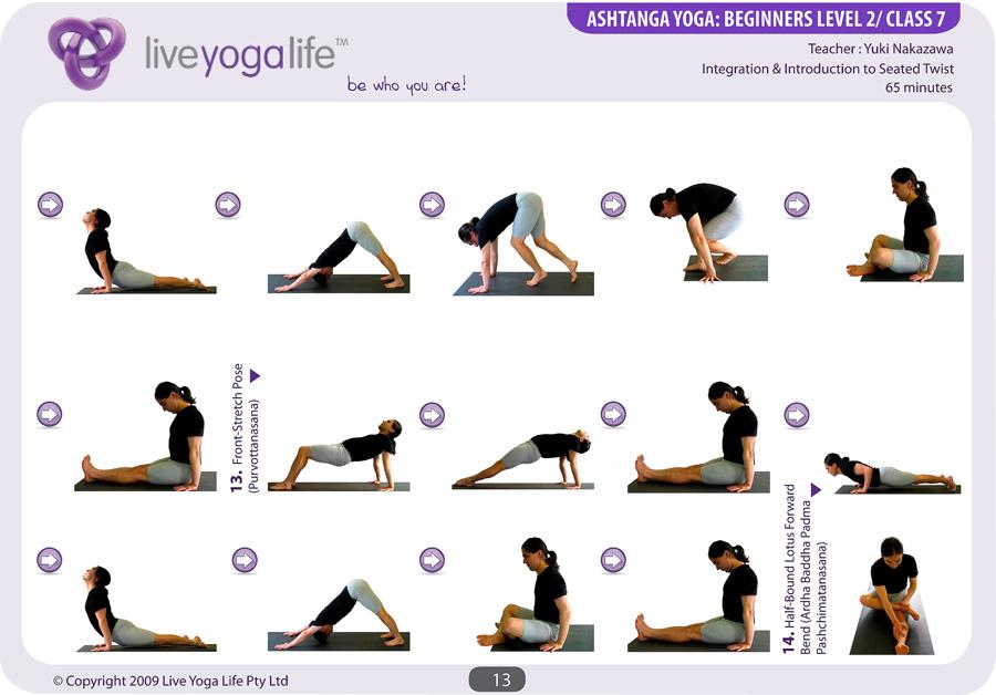 Ashtanga Yoga Beginners Class 7