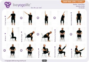 Yoga with a Chair Level 1 – Class 3