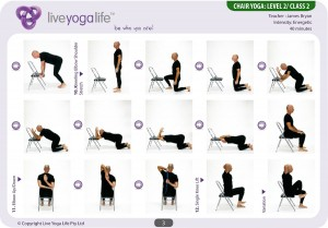 Yoga with a Chair Level 2 – Class 2