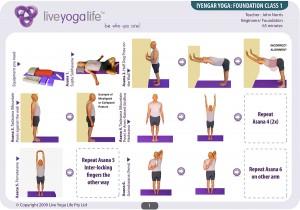 Iyengar Yoga Foundation Class 1