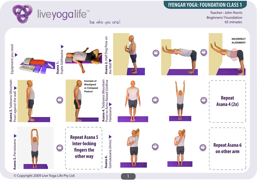Chair Class Sequence By Iyengar Poses For Beginners Berry
