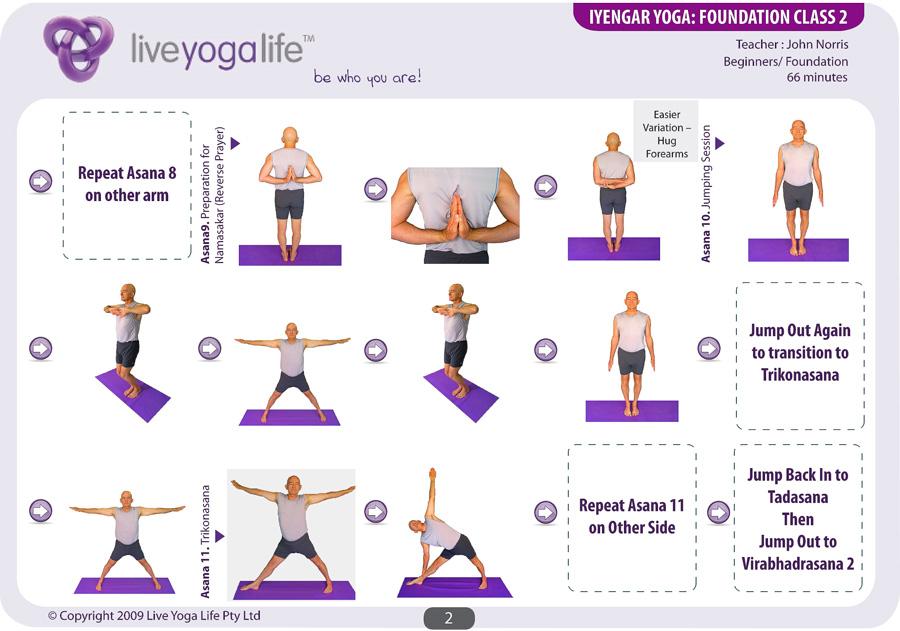 Iyengar Yoga Foundation Class 2   Live Yoga Life