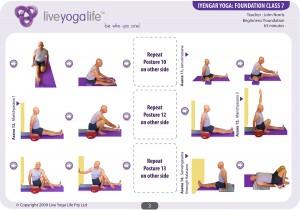 Iyengar Yoga Foundation Class 7