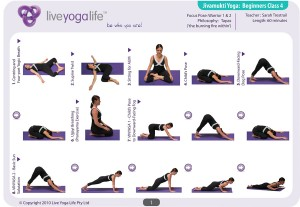 Hatha Yoga for Beginners Class 4