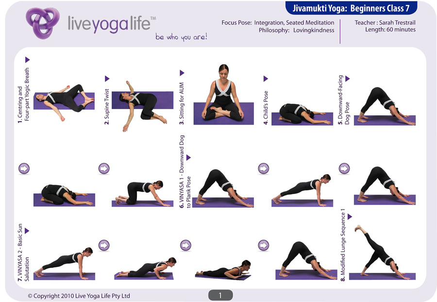 Hatha Yoga For Beginners Class 7