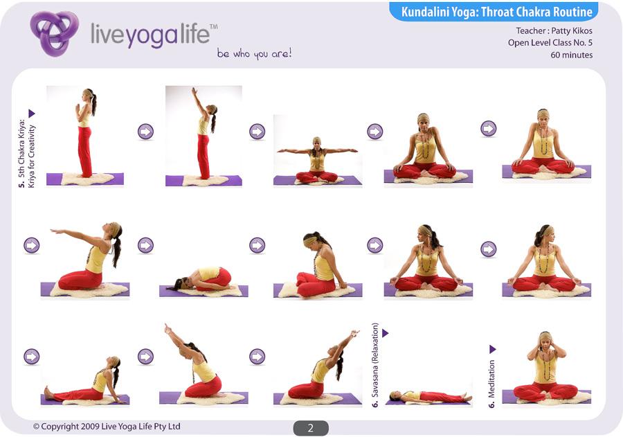 Kundalini Yoga Chakra Program Complete Set (Classes 1 to 8) | Live ...