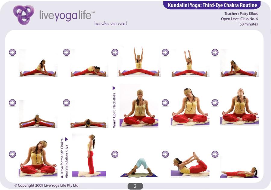 Kundalini Yoga Chakra Program Complete Set (Classes 1 to 8)   Live