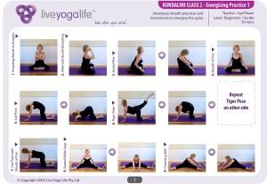 Kundalini Yoga Class 2