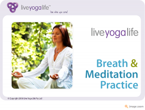 Guided Meditation Class 1 – Breath & Relaxation