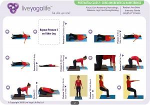 Postnatal Yoga Program Class 1