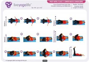 Postnatal Yoga Program Class 2