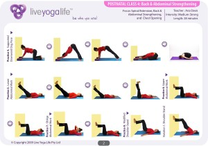 Postnatal Yoga Program Class 4