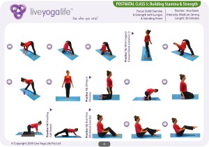 Postnatal Yoga Program Class 5