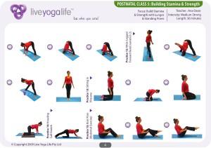 Postnatal Yoga Program Class 5