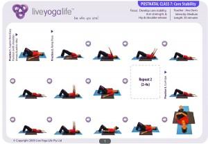 Postnatal Yoga Program Class 7