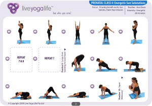 Prenatal Yoga Program Class 4