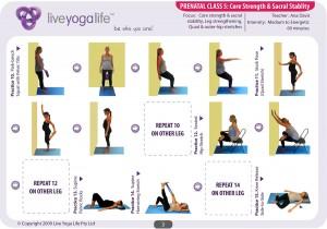 Prenatal Yoga Program Class 5