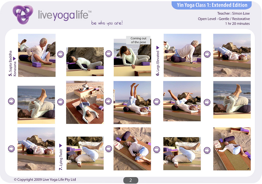 Yin And Yang Yoga Open Level Complete Set Classes 1 To 3