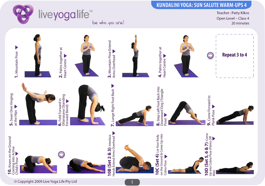 Yoga Sun Salutation c Sun Salutation Great Yoga