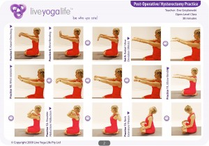 Yoga for Hysterectomy Class 1