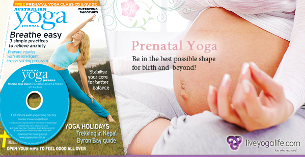 Australian Yoga Journal - Prenatal Yoga with Ana Davis
