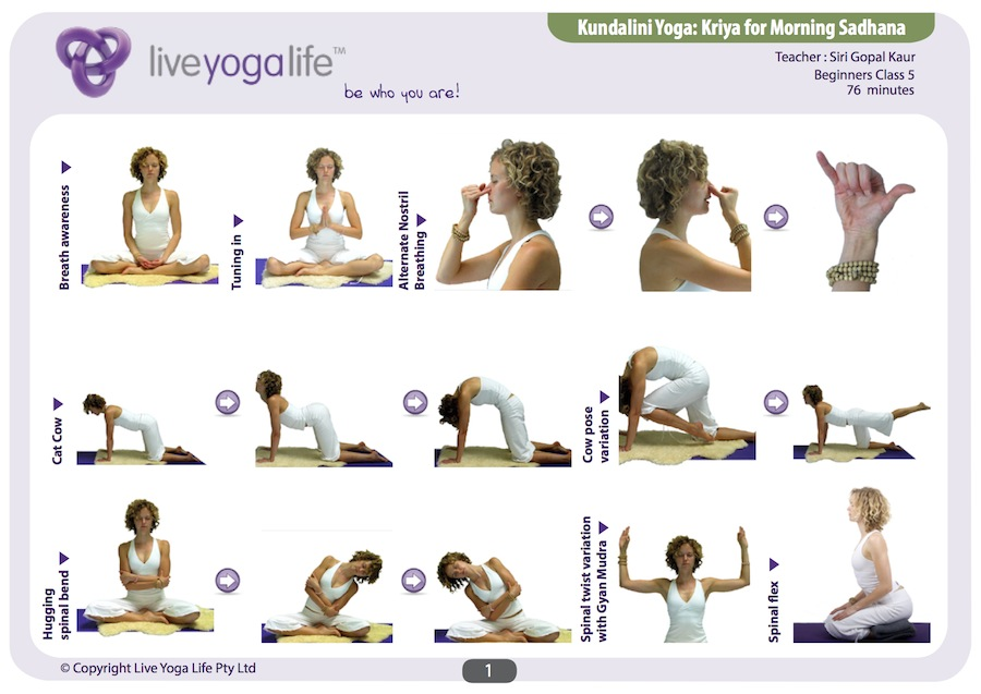 Weight Loss Top 5 Poses Easy Kundalini Yoga AWAKEN And Embody The Energy Of